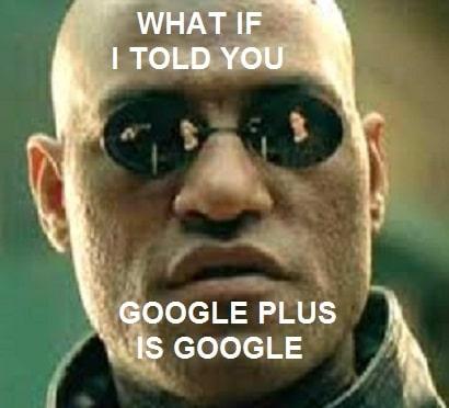 matrix google plus